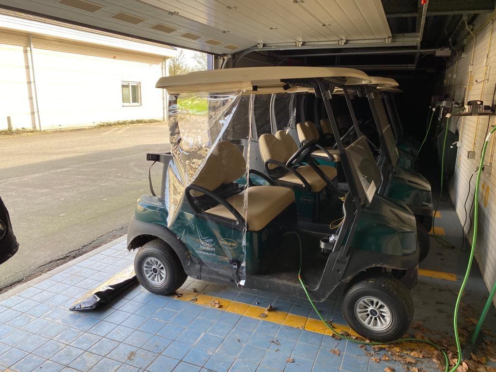 beschermingsmateriaal op voertuig